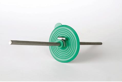 Rondo Mauerkragen für Blitzschutz-Erdungsband
