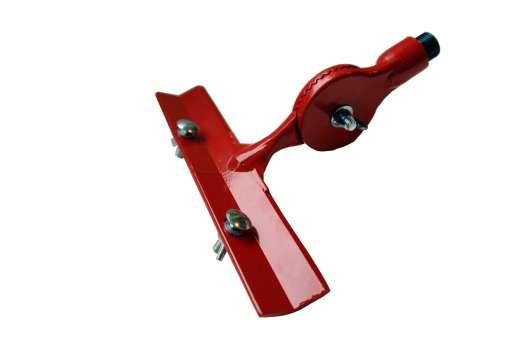 Werkzeughalter Alu / Flächenspachtelhalterung Alu, M18