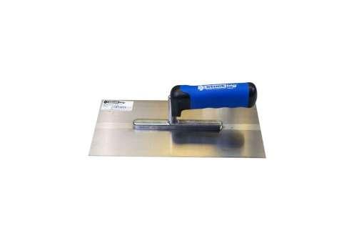 Glättekelle 280 x 130 x 0,7 mm, Stahl, mit 2K-SOFT-Griff