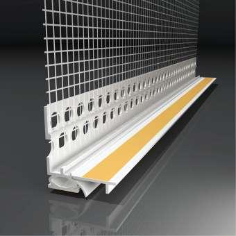 Anputzleiste LS2-FLEX 2 D, 9 mm