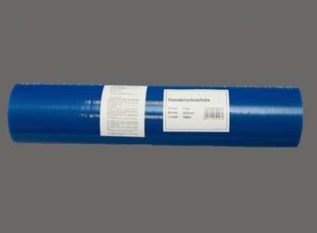 Schutzfolie/Glasschutz, selbstklebend, blau