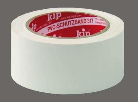 317 PVC-Schutzband, glatt, 50 mm, 33 m