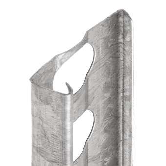 4201 Putztrenn- /Abschlussprofil, Innenputz, Putzstärke: 10 mm