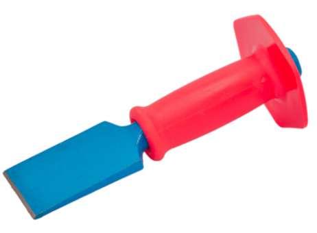 Breitmeißel mit Schutzgriff, 60 mm