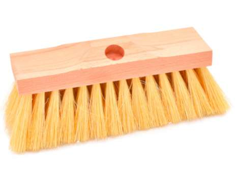Teerschrubber mit Stielloch, 230 x 70 mm
