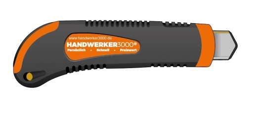 Cuttermesser CM5200, mit Abbrechklinge