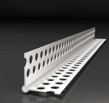 PVC-Eckwinkel / Trockenbauprofil 2,5 mtr. lang