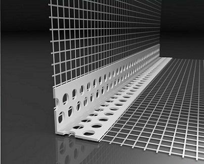 PVC-Gewebe-Eckwinkel 10 x 15 cm PREMIUM f. WDVS, 2 m, 1 Bund (100m)