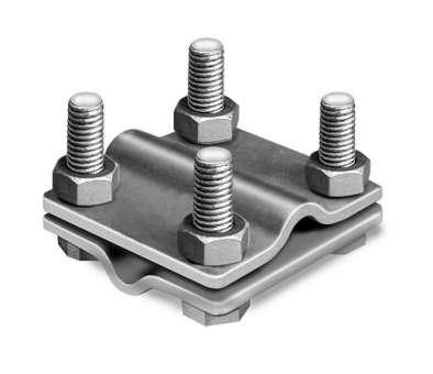 Kreuzverbinder V4A 2-tlg. Universal