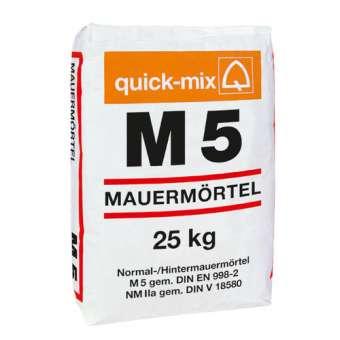 M 5 Mauermörtel, PALETTENWARE