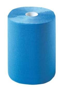 Multiclean plus Putztuchrolle blau 2-lagig 1000 Abrisse