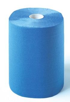Multiclean plus Putztuchrolle blau 2-lagig
