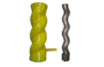 >stockbig® Mantel & Schnecke D8-1,5 spiral