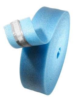 Randdämmstreifen, mit Lasche, blau, verschiedene Ausführungen