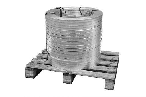 Erdungsband aus Edelstahl (V4A), flach, 30m Rolle