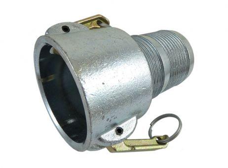 Kupplung MT 65 mit Tülle 65 Stahl, verzinkt