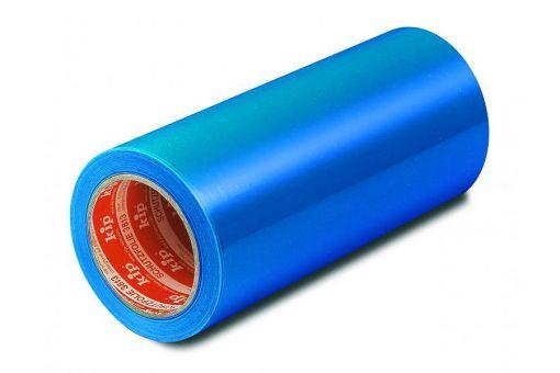 3813 Schutzfolie, selbstklebend, blau, 100 m lang