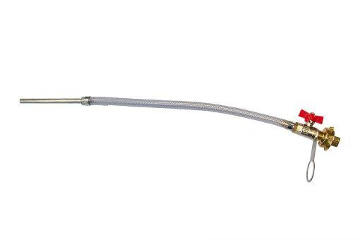 Luftanschluss für Feinputzgerät 600 komplett mit starrem Halter für Luftschlauch