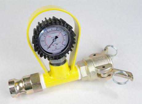 Mörteldruckmanometer für Putzmaschine