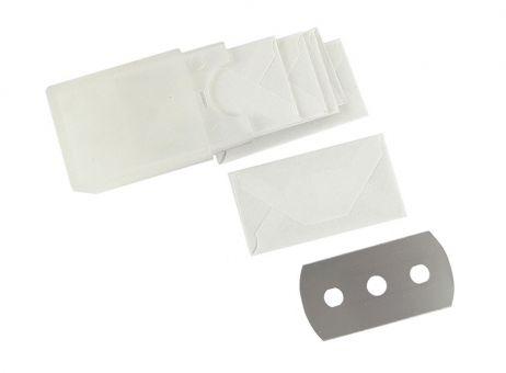 Glasschaber Ersatzklingen in Plastikbox