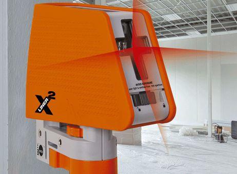 X-Liner², selbstniv. Kreuzlinienlaser