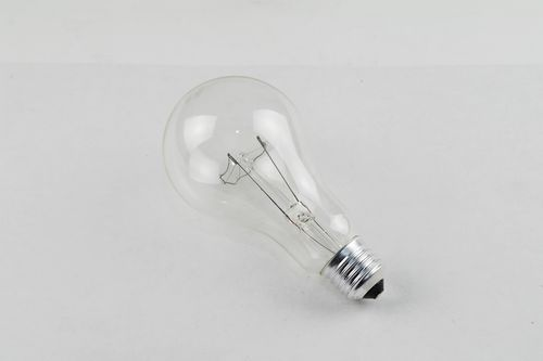 Glühlampe, E27 Fassung, stoßfest