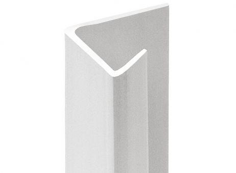 3095 Einfassprofil, Trockenbau, PVC, für Gipskarton (9,5 mm), 250 cm