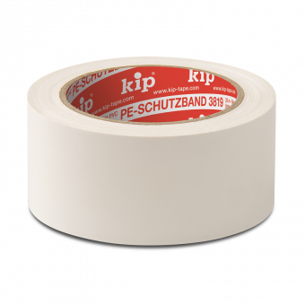 3819 PE-Schutzband, weiß, 50 mm, 33 m