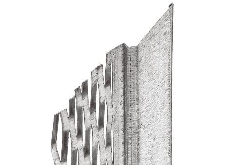 7000 Dehnfugenprofil, Innen-/Außenputz, 14 mm, 250 cm (1 Bd à 25 Stb)