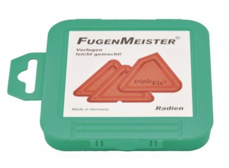 Fugenmeister Radienschablonen Triple Fix
