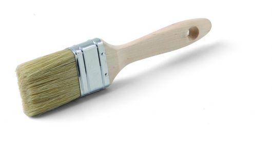 Flachpinsel MADURO XL, verzinkte Zwinge, Holzstiel