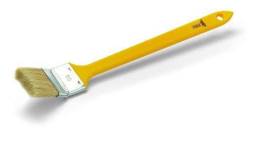 Heizkörperpinsel MERCATO HP, helle Borste und Kunststoffstiel, verschiedene Breiten