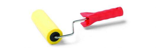 Tapeten-Andrückroller MAGIC PUSH mit 10 mm Schaumbezug, verschiedene Ausführungen