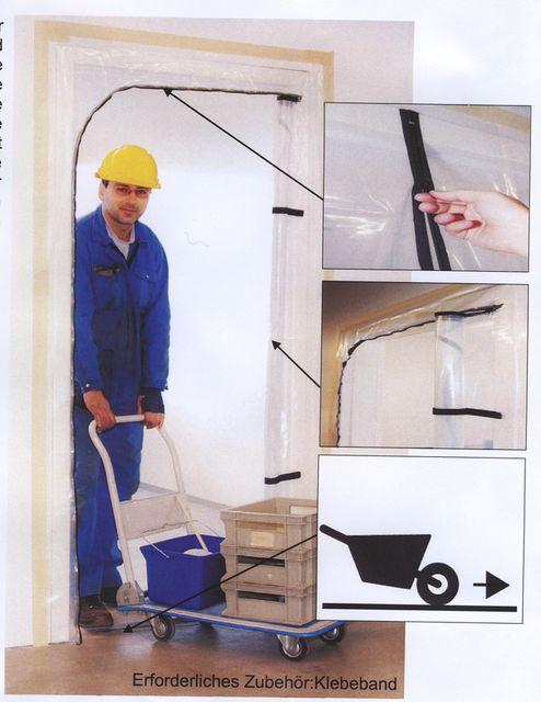 staubschutzt r mit rei verschluss typ l befahrbar typ l befahrbar handwerker3000. Black Bedroom Furniture Sets. Home Design Ideas