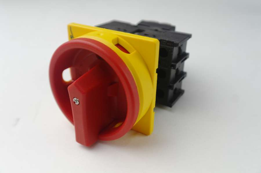 hauptschalter 3 polig 25 a handwerker3000. Black Bedroom Furniture Sets. Home Design Ideas