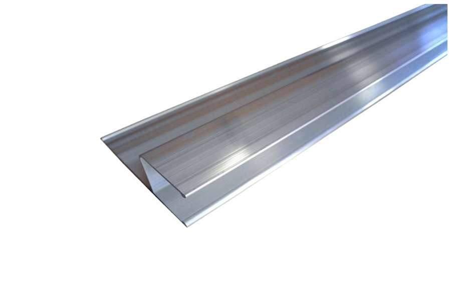 H-Profil-Kartätsche aus Aluminium 180 cm, 3er Set
