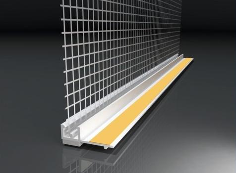 Anputzleiste mit Glasgewebe | 2,4 m |