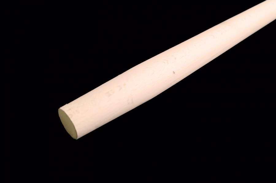 Stiel für Stoßscharre, 130 cm, Buchenholz