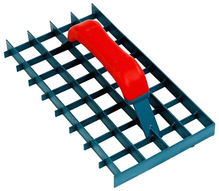 Gitter-Rabot, Putzhobel, Maschenweite: 30 x 30 mm