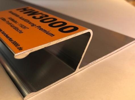 Profil-Kartätsche , starke Ausführung mit 2,2 mm Materialstärke, verschiedene Längen