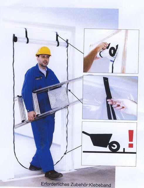 Staubschutztüre befahrbar oder bedingt befahrbar