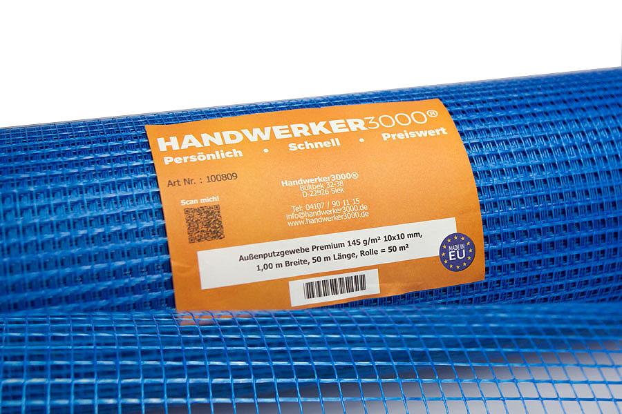 Außenputzgewebe 145 g/m² Premium-Qualität
