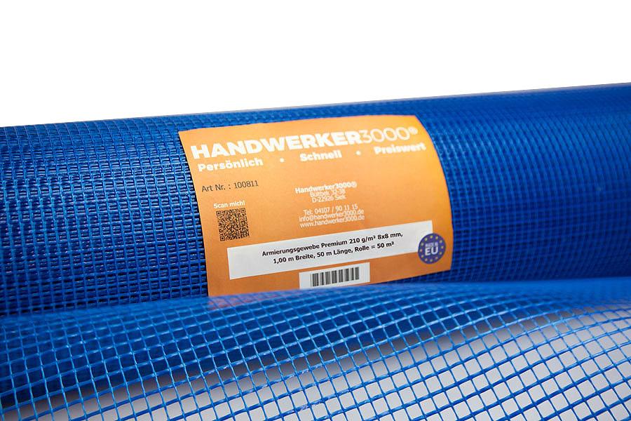 Armierungsgewebe 210 g/m² 7x7 Premium-Qualität