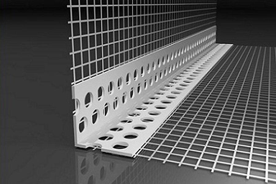 PVC-Gewebe-Eckwinkel Standard für WDVS 10 x 10 cm (3 Bd à 50 Stb)