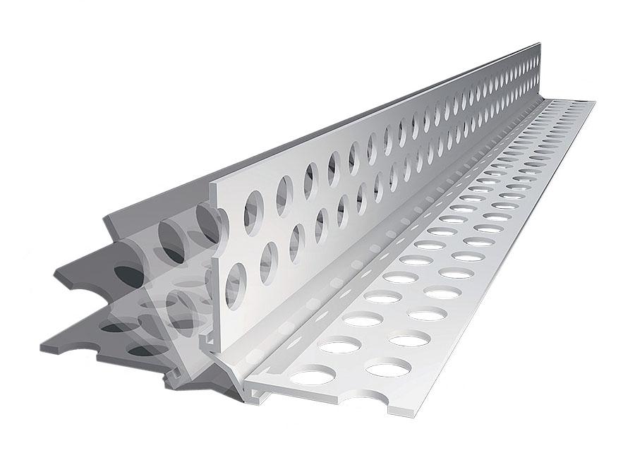 PVC-Eckwinkel mit flex. Winkel, verschiedene Längen