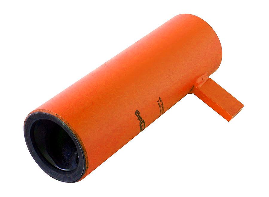 >stockbig® Mantel/Stator mit Verdrehsicherung D6-3 orange glatt