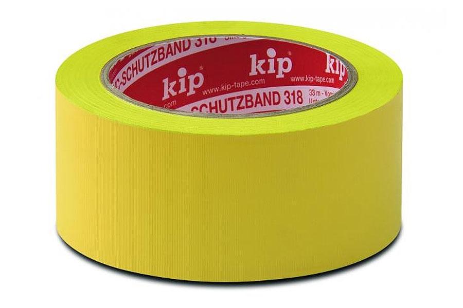 KIP 318 PVC-Schutzband, quergerillt
