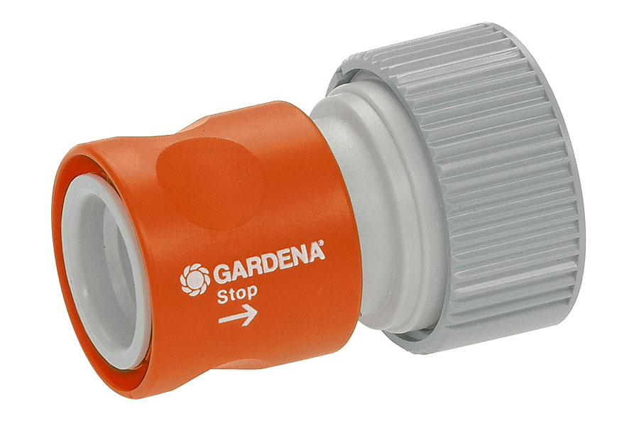 GARDENA Profi-System Übergangsstück mit Wasserstop