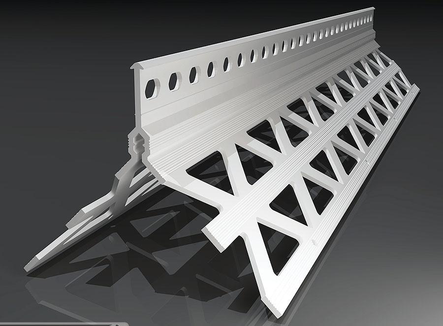 Kantenprofil Innen- und Außenbereich 14mm / 43x43mm / 2,5m