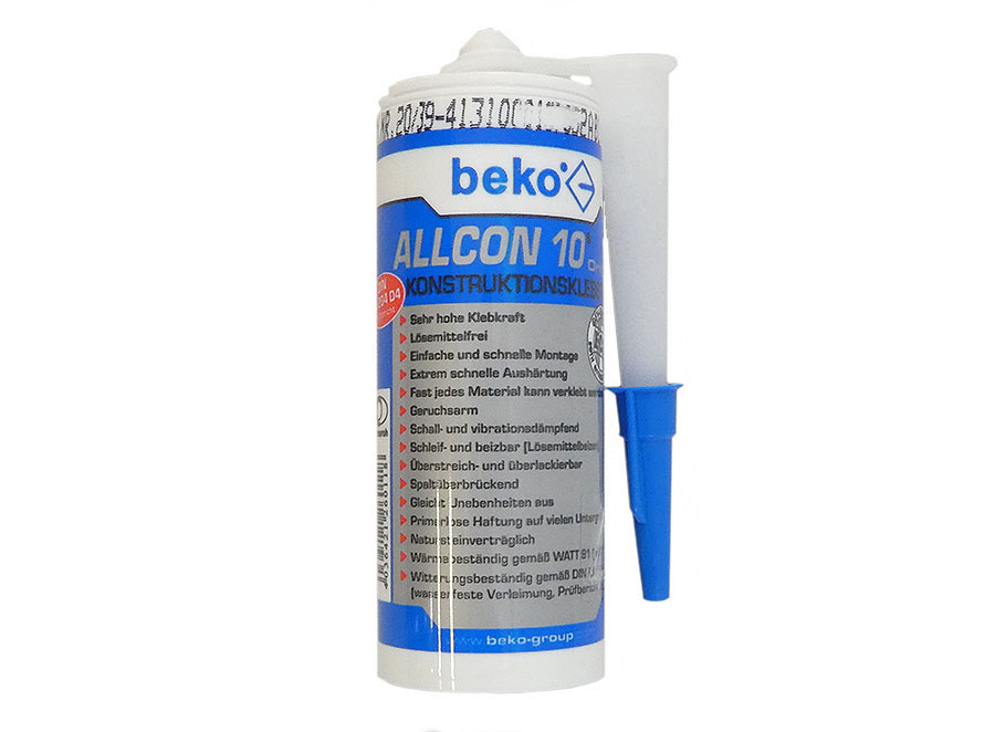 BEKO Allcon 10® Konstruktionsklebstoff
